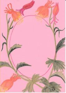 bloemen tekeningen , intuïtief tekenenen