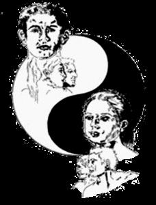 ying yang, samenwerken met respekt voor elkaar. kan ook in een privé-workshop of bij een themadag