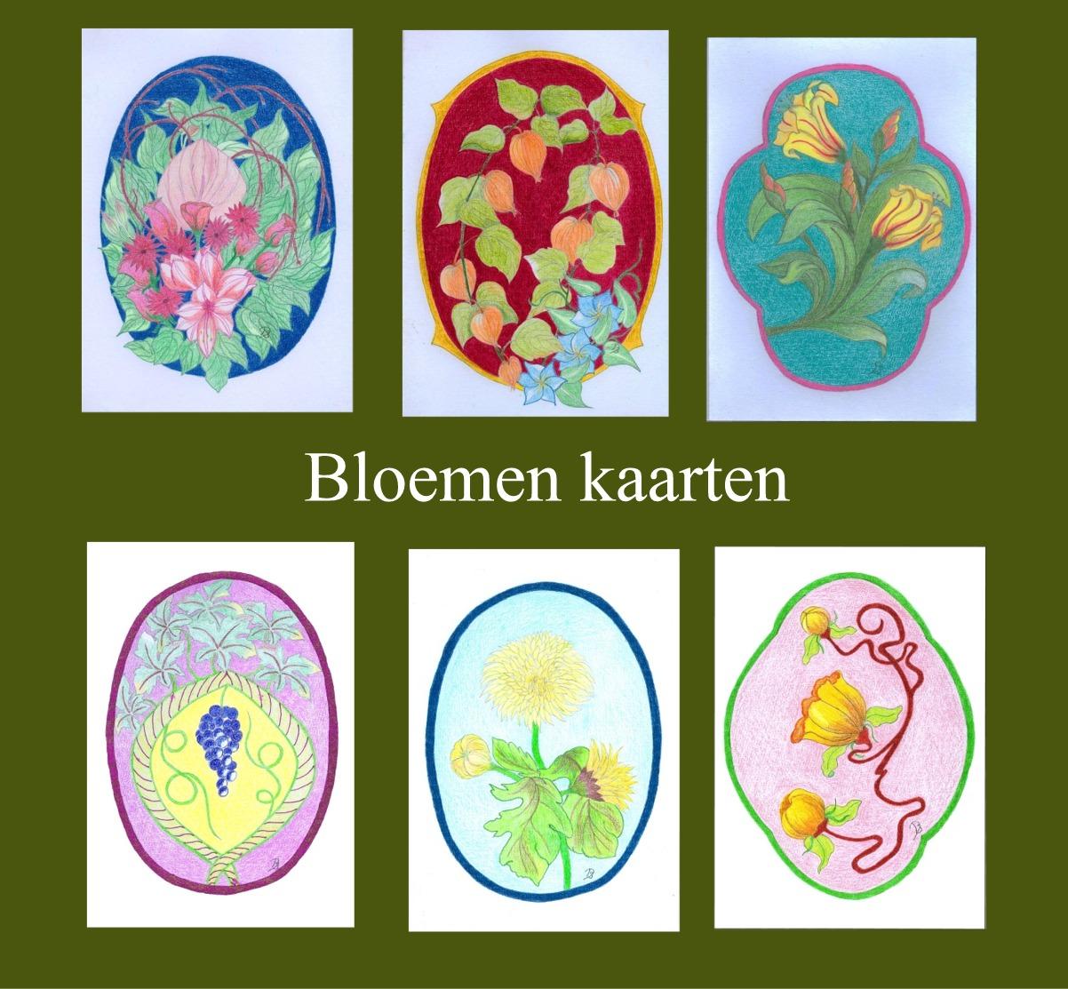 bloemen kaarten