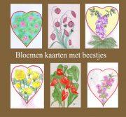 bloemen, insecten tekenen