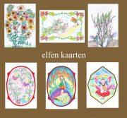 Bloemen, elfen tekenen