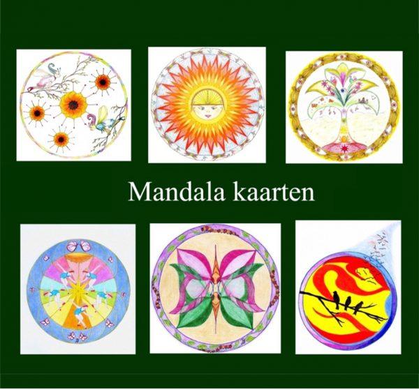 Mandala tekenen elfen bloemen vlinders