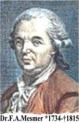 magnetiseren en magnetisme hoort bij Franz Anton Mesmer