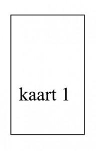 tarot legmethoden, dag/week/maand kaart