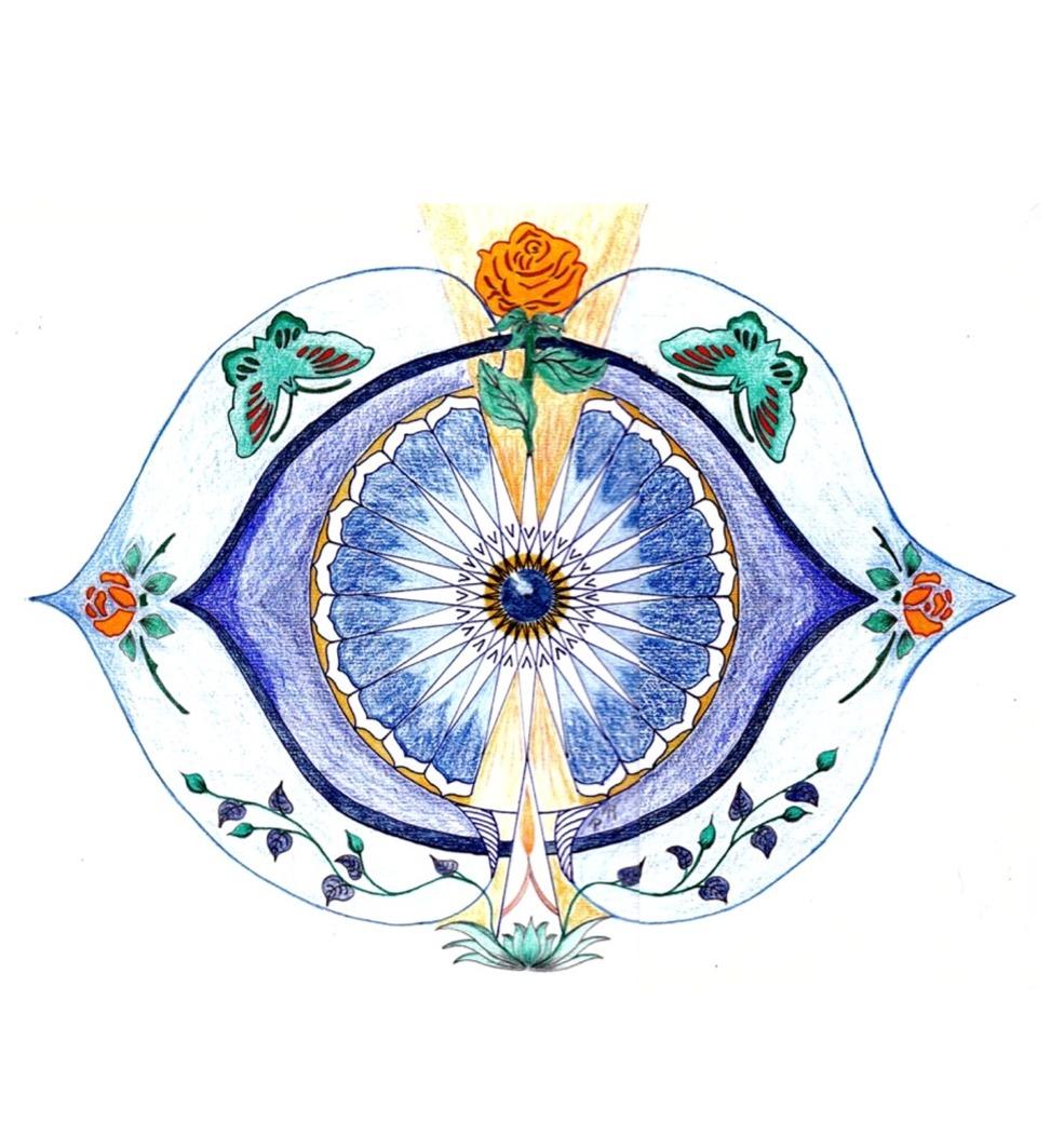 Derde oog chakra / voorhoofd chakra